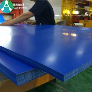 kolor opaque rigid PVC plastic sheet