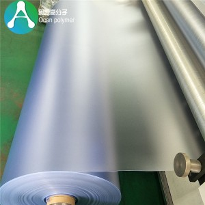 Ferskillende grutte transparent Frosted PVC sheet