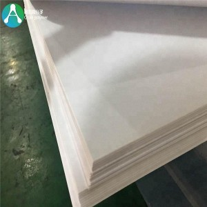 Lephaka eaba ba etsa Thick led 3mm White Fireproof Plastic Sheet bakeng Furniture