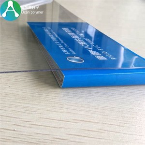 printable PET transparent film for offset printing