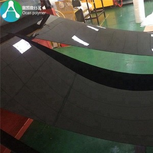 1mm thick rigid plastic pvc sheets black