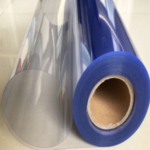 Clear kaku PVC ROLL kanggo packing