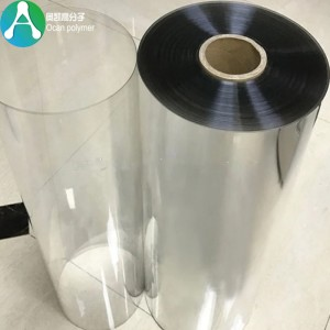 Clear PET Plastic film voor lade