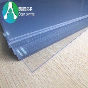 transparent PVC-plader