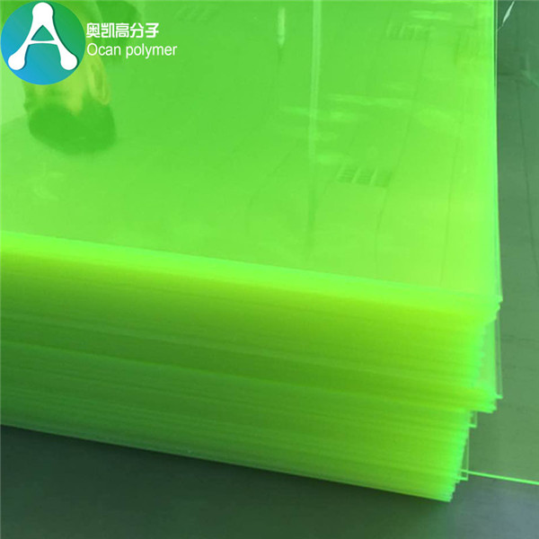 fluorescente verde claro plástico PVC Folla Featured Image