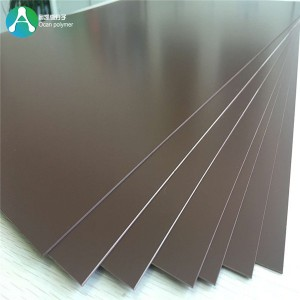 1.5mm Rigid Plastic Sheet Bulok PVC Sheet alang sa Furniture Lamination