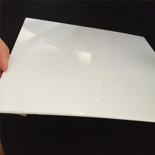 Vacuum forming 4×8 White Hard Plastic PVC Sheet for 3D Wall Panel Featured Image
