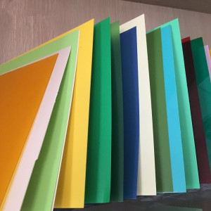 Warna kaku PVC Sheet