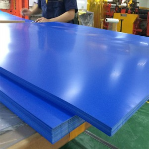 Customized ruvara vanachandagwinyira PVC Sheet 0.2-6mm ukobvu