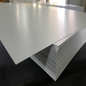 alb mat din PVC rigid Sheet grosime 0.2-6mm