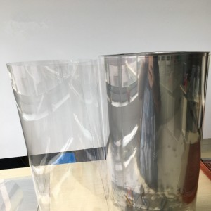 Clear rigid PET Sheet material for packing